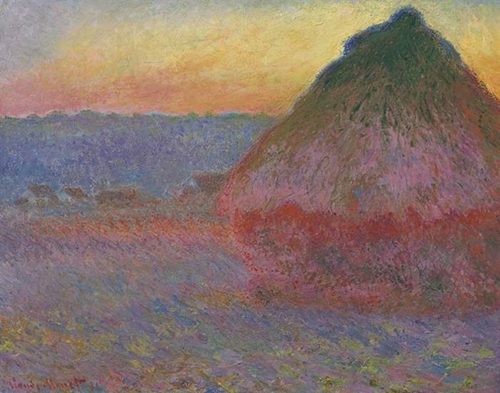Какая картина Моне была продана на аукционе за рекордную сумму?