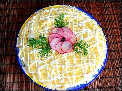 слоеный салат с яблоком 3 (500x375, 290Kb)