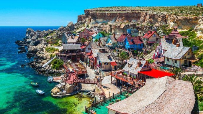 4. Деревня Попай, Мальта (688x387, 356Kb)