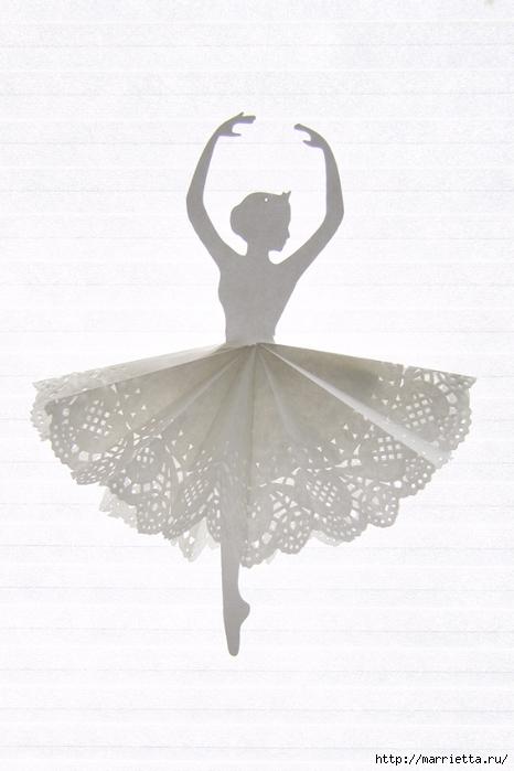 Балеринки из бумаги и салфеток (8) (466x700, 207Kb)