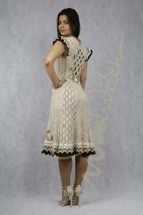 Вязаное платье 'Эльмира' ww (466x700, 83Kb)