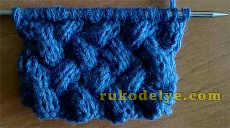 узор плетенка кратно 8