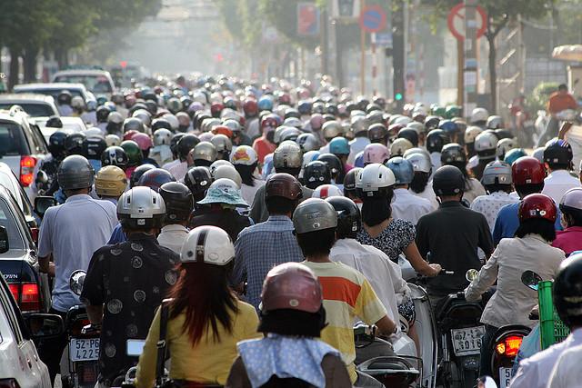 А вам повезет перейти улицу во Вьетнаме?