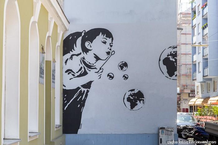 Стрит-арт Вены - фотографии Александра Шевченко
