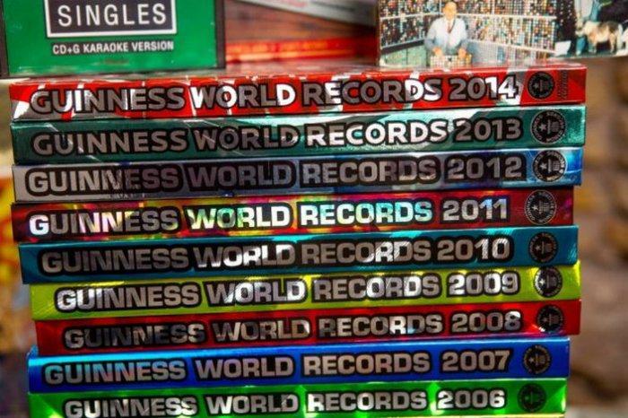 Как попасть в Книгу рекордов Гиннесса с помощью… Книги рекордов Гиннесса