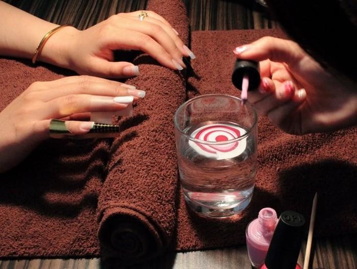 Водный маникюр: как сделать в домашних условиях