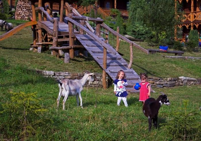 Отдых с детьми в горах