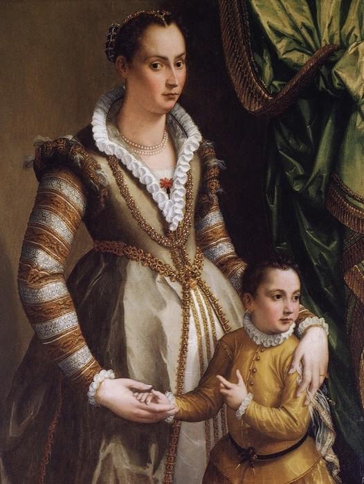 Истоки современной живописи - в итальянских портретах