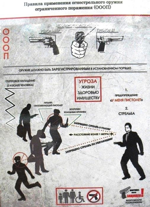 правило применения оружия (507x700, 149Kb)