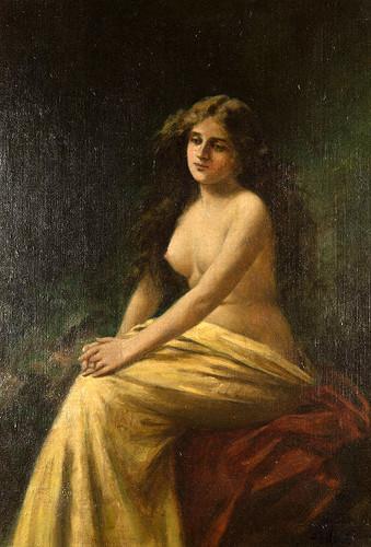 Angelo Asti (1847 – 1903) Solitude (Одиночество)