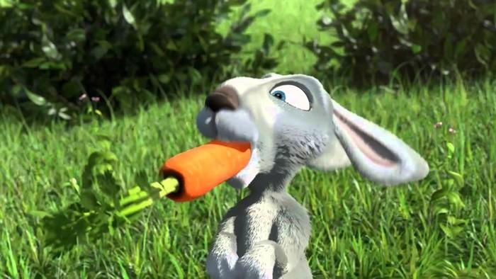 Зайца принято считать трусливым, однако...