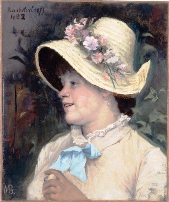 Мария Константиновна Башкирцева_Парижанка (Ирма) (584x700, 445Kb)