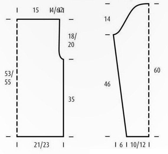 Пуловер связанный крючком с подробной схемой вязания./3071837_226 (569x521, 19Kb)