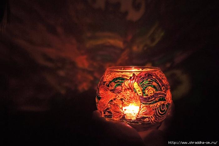 ваза подсвечник ЗОЛОТЫЕ РЫБКИ от Shraddha (10) (700x466, 218Kb)