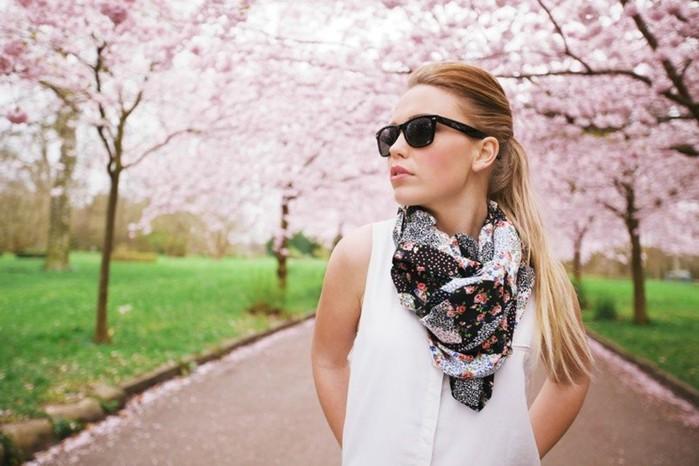 25 способов завязать шарф (4,5 минутное видео)
