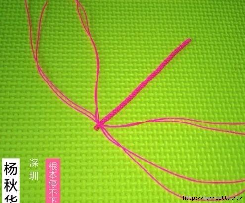 Плетение миниатюрного зонтика для куклы (1) (495x411, 115Kb)