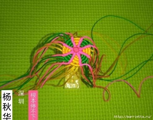 Плетение миниатюрного зонтика для куклы (5) (494x390, 109Kb)