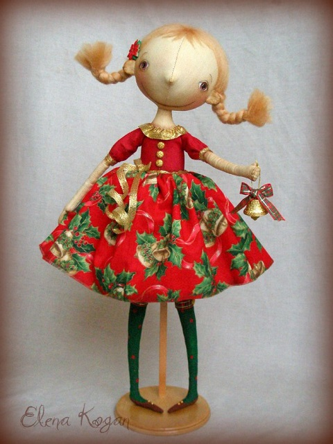 Кукла-тыквоголовка своими руками