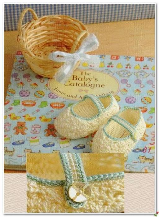 Пинетки - туфельки связанные крючком со схемой вязания./3071837_251 (513x700, 62Kb)