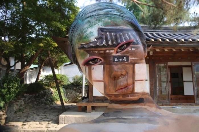 Мастер иллюзий художница Дайн Юн