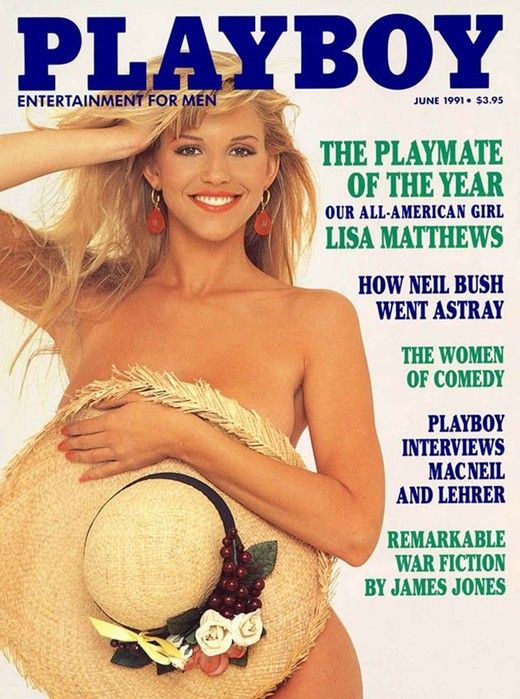Журнал Playboy воссоздал обложки с моделями через 30 лет
