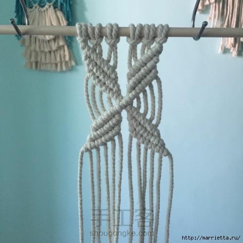 Плетение декоративного панно в технике макраме (15) (500x500, 129Kb)