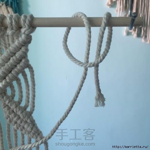 Плетение декоративного панно в технике макраме (17) (500x500, 125Kb)