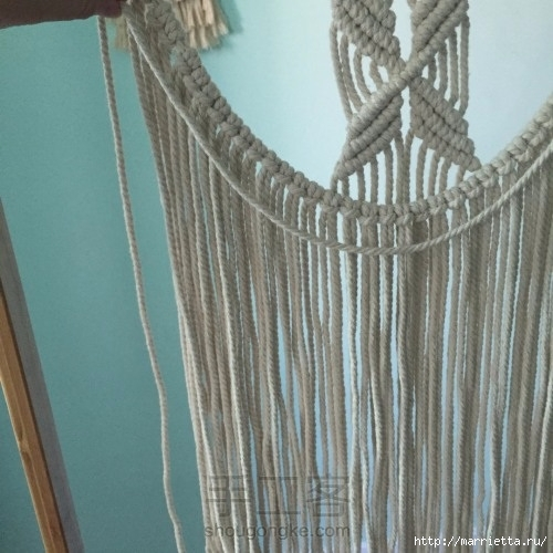 Плетение декоративного панно в технике макраме (21) (500x500, 153Kb)