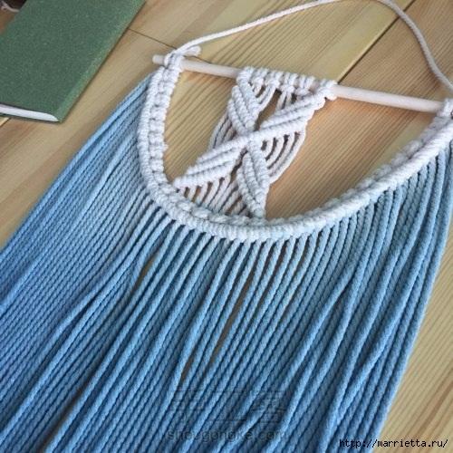 Плетение декоративного панно в технике макраме (23) (500x500, 192Kb)