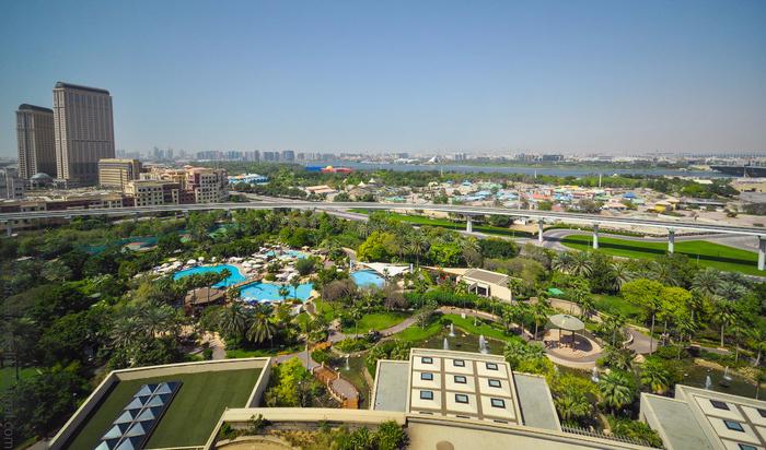отель Гранд Хайат Дубай в дубае 2 (700x412, 442Kb)
