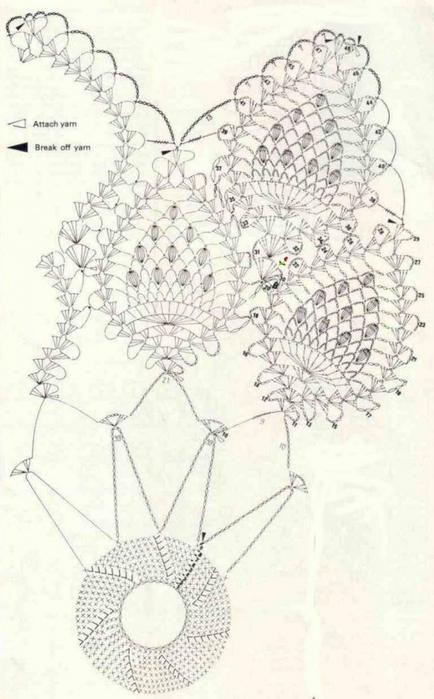 Ажурная салфетка ананасами со схемой вязания/3071837_402 (434x700, 192Kb)