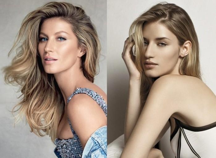 Похожие девушки-модели, которых часто путают друг с другом