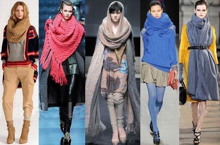 Модные женские шарфы весна 2017 женские