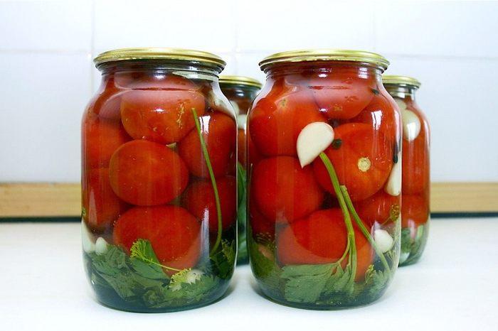 Рецепт пошагово с помидоров на зиму