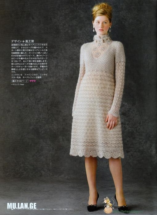 Платье связанное крючком со схемами вязания/3071837_081 (509x700, 258Kb)