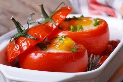 Яичница в помидорах (423x282, 44Kb)