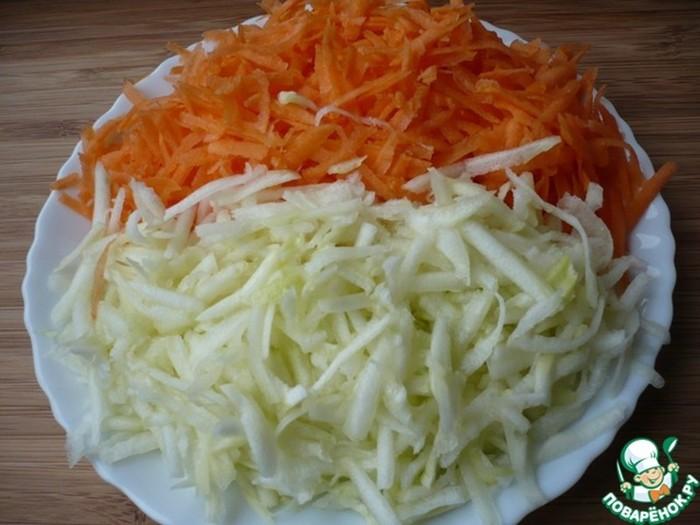 Камбала с золотой корочкой в овощном кляре