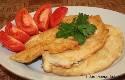 Куриные Отбивные с хрустящей сырной корочкой (406x261, 75Kb)