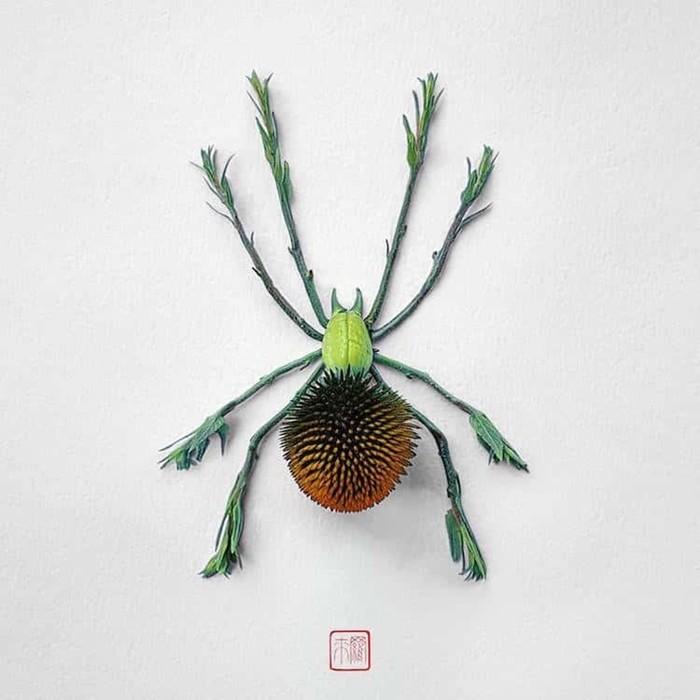 Цветочные насекомые от канадского художника