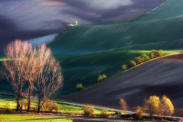 Живописные холмы итальянской Тосканы. ﻩﻩﻩ Фото: Марцина ...: http://www.liveinternet.ru/users/hope_always/post419649657/