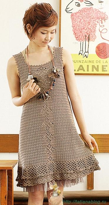Платье связанное крючком со схемой вязания/3071837_261 (371x700, 247Kb)