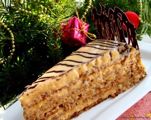 Рецепт торта «Эстерхази» (640x508, 229Kb)