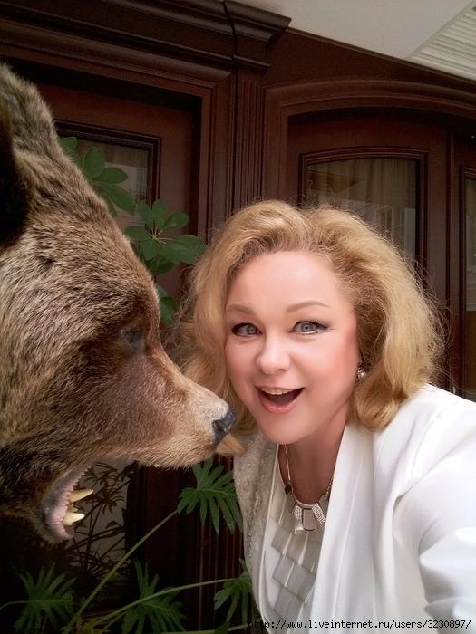 3 с медведем (525x700, 295Kb)