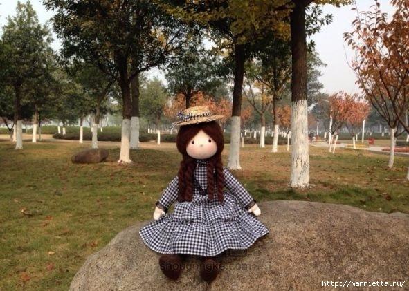Мастер-класс по пошиву японской текстильной куклы (5) (591x421, 189Kb)