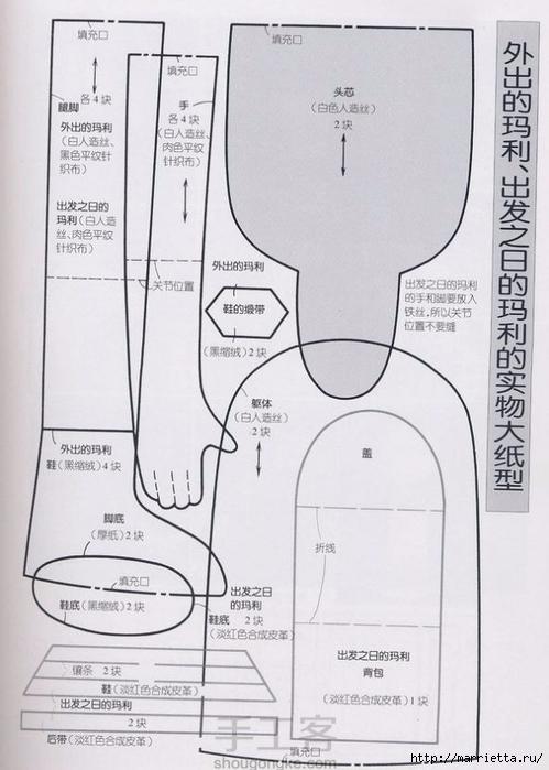 Мастер-класс по пошиву японской текстильной куклы (52) (499x700, 206Kb)