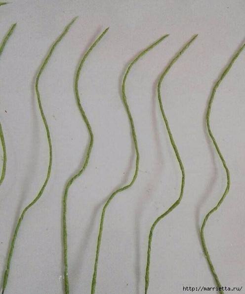 Цветы ЛИЛИИ из гофрированной бумаги. Мастер-класс (21) (496x594, 127Kb)