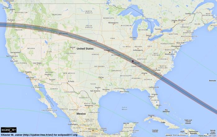 Как прошло полное солнечное затмение в Америке