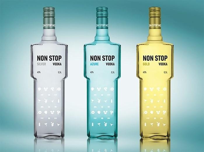Водочная мода: дизайнерские бутылки для «огненной воды»