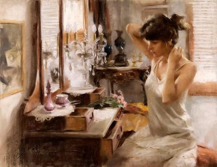 Пленительные женские портреты от Висенте Ромеро Редондо