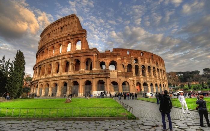 Древний римский Колизей. Настоящий ли он на самом деле?
